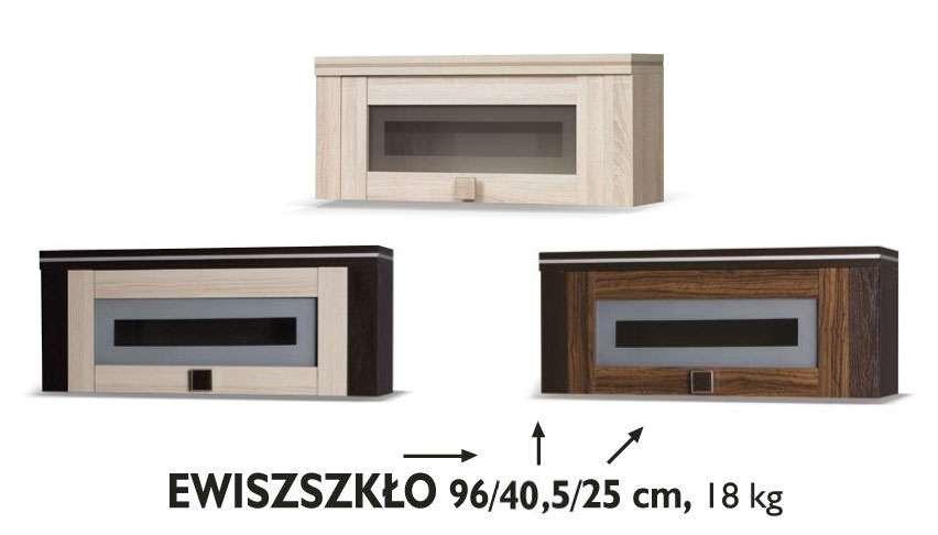 závěsná skříňka EWIS SKLO GB