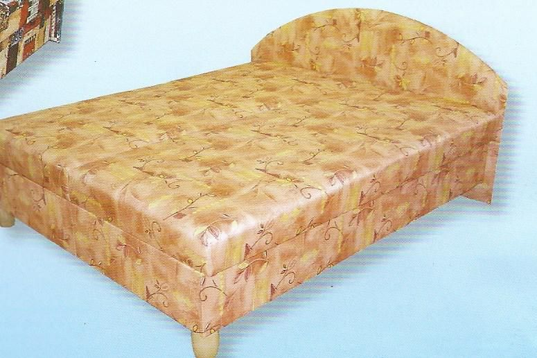 postel DÁJA na nožkách - v. 52 cm