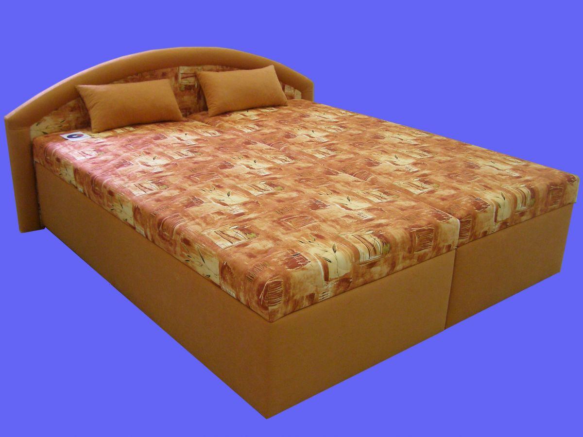 postel KAMILA - lamela, polohovatelný rošt