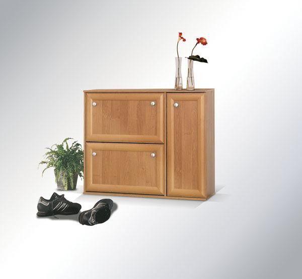 botník košík - dvířka LMDF