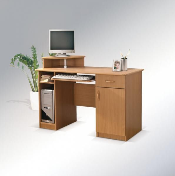 PC stůl MAX s rohovou nástavbou MRX