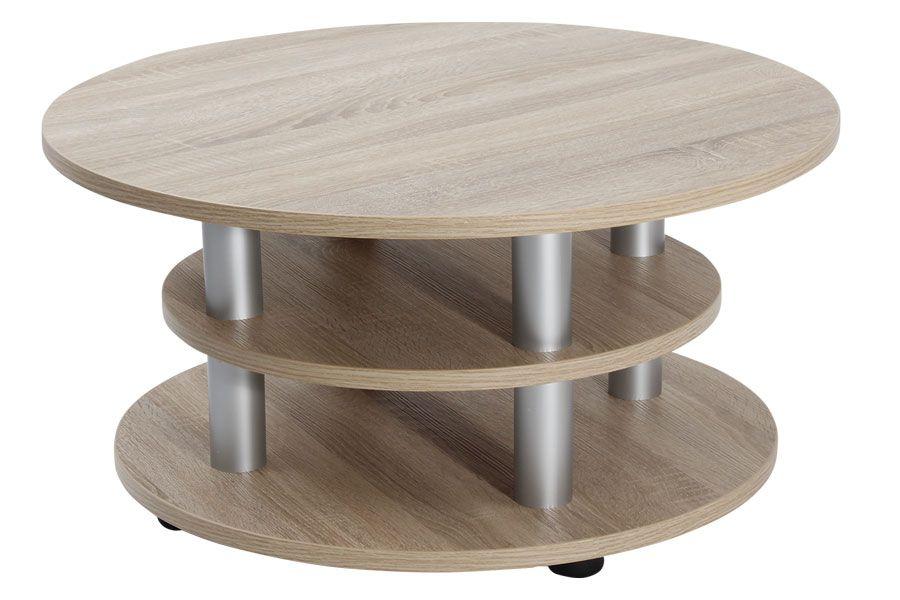 konferenční stolek K147 Kvído otočná deska BR