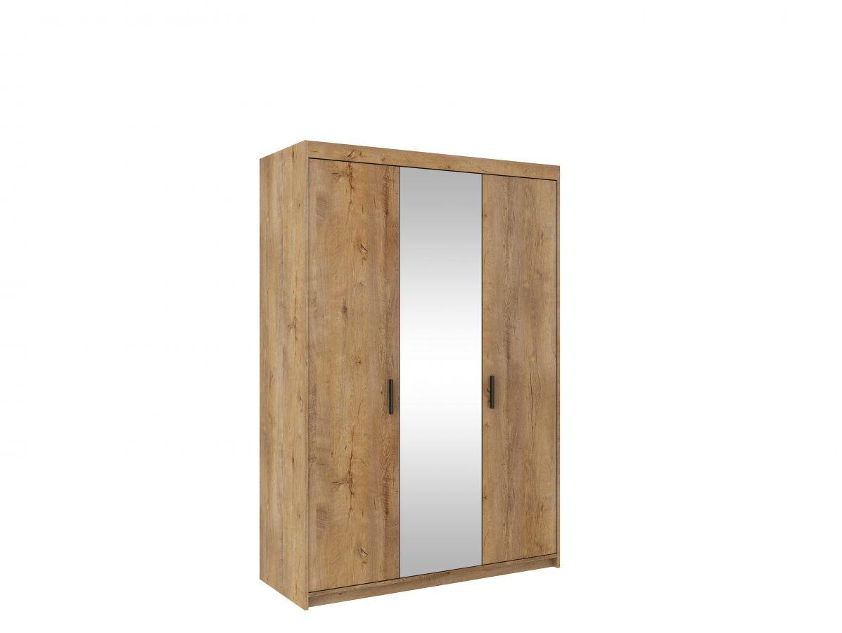 šatní skříň ELENA 3D se zrcadlem STZ
